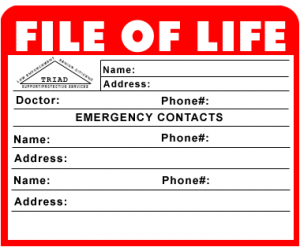 file for life by triad