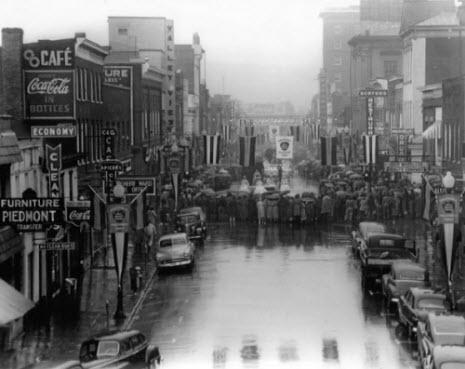 Ed Roseberry's Vintage Photographs of Charlottesville Virginia