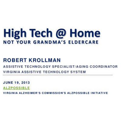 Video: High Tech at Home – Simple Assistive Devices for Successful Aging in Place