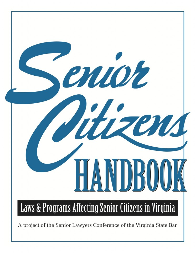 Cover of Senior Citizens Handbook