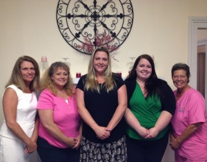 The team at Care Advantage Staunton, from left to right: Karman McCray, Senior Adminsitrator, Donna Etherton RN-Home Care Supervisor, Jessica Moore, Personnel Supervisor, Lisa Miller –Staffing Supervisor, Darla Edghill-Home Care Specialist