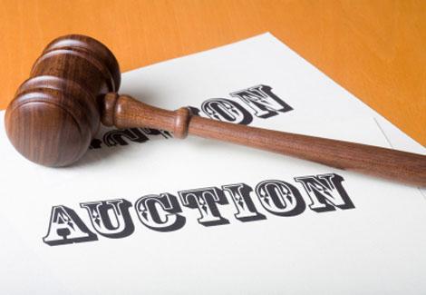 Auction gravel