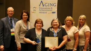 The JABA Team at the National Association of Area Agencies on Aging Awards