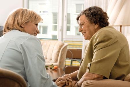 Visiting Loved Ones at Nursing Home