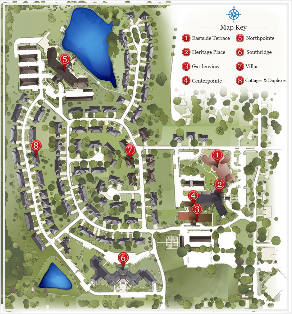 Lakeview Map