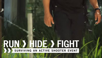 Active Shooter Awareness Training Run Hide Fight Video