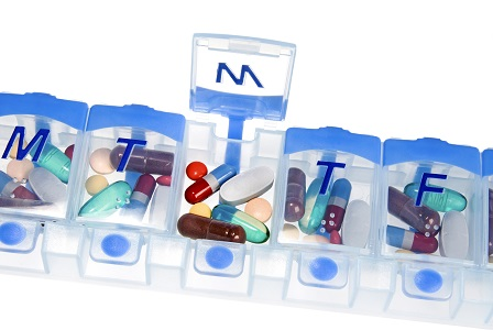 medication reminder pill box